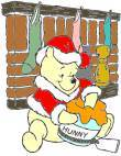 Winnie The Pooh with the Honey Pot