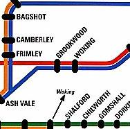how to get to farnborough by train